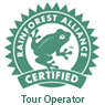 Rainforest Alliance Certified Tour Operator